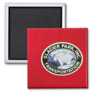 USA, Montana, Glacier National Park, Vintage 2 Fridge Magnets
