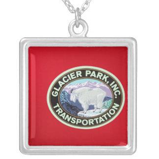 USA, Montana, Glacier National Park, Vintage 2 Silver Plated Necklace