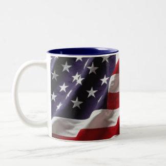USA -Mug- Style 1 Two-Tone Coffee Mug