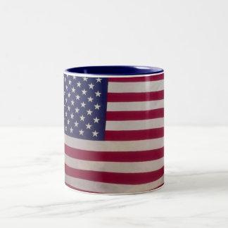 USA -Mug- Style 2 Two-Tone Coffee Mug