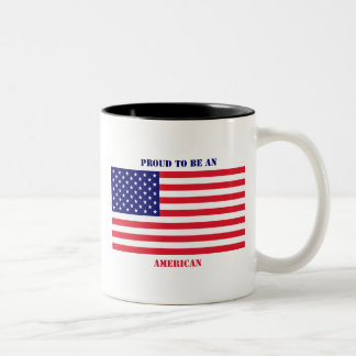 USA_Mug Two-Tone Coffee Mug