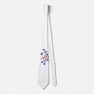 USA Musical Notes Tie