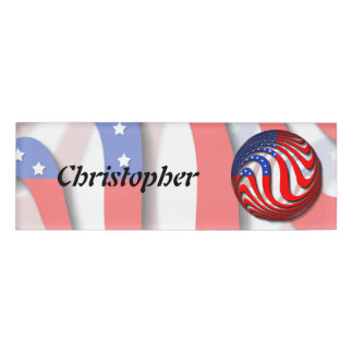 USA NAME TAG