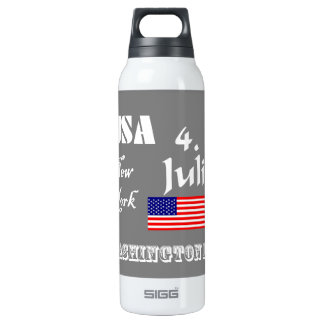 USA national 16 Oz Insulated SIGG Thermos Water Bottle