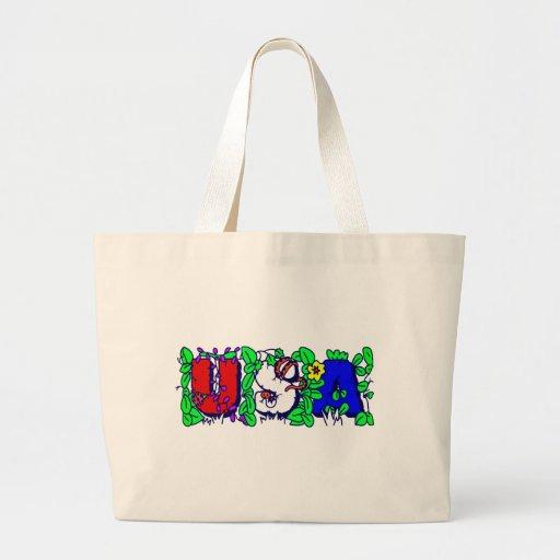 USA - NATURE DESIGN CANVAS BAGS