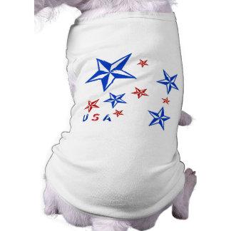 USA Nautical Stars Tshirt