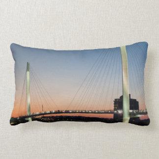 USA, Nebraska, Omaha, Bob Kerrey Pedestrian Lumbar Pillow