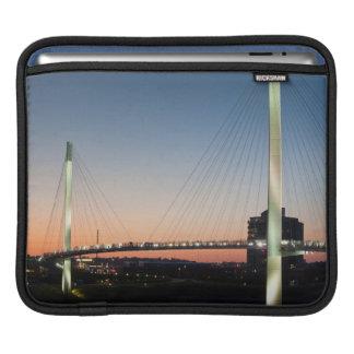 USA, Nebraska, Omaha, Bob Kerrey Pedestrian Sleeve For iPads