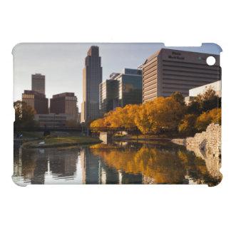 USA, Nebraska, Omaha, Gene Leahy Mall, Skyline iPad Mini Covers