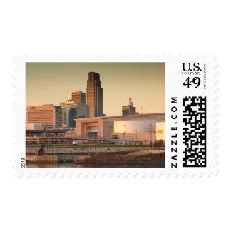 USA, Nebraska, Omaha, Skyline Postage
