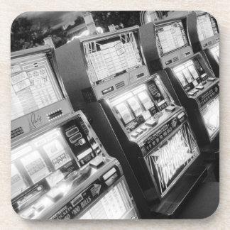 USA, Nevada, Las Vegas: Casino Slot Machines / Beverage Coaster