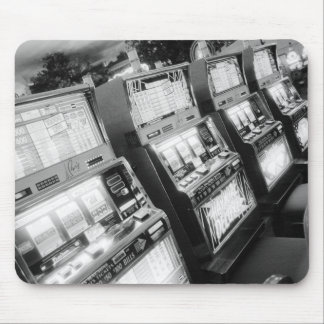 USA, Nevada, Las Vegas: Casino Slot Machines / Mouse Pad