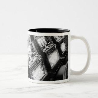 USA, Nevada, Las Vegas: Casino Slot Machines / Two-Tone Coffee Mug