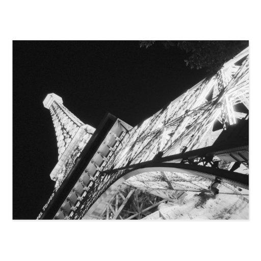 USA, Nevada, Las Vegas: Eiffel Tower / Paris Postcard