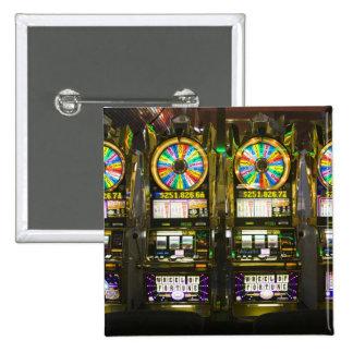 USA, Nevada, Las Vegas. McCarran International 2 Inch Square Button