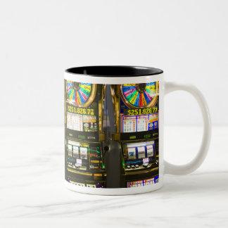USA, Nevada, Las Vegas. McCarran International Two-Tone Coffee Mug