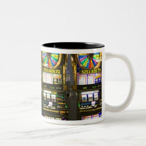 USA, Nevada, Las Vegas. McCarran International Coffee Mugs