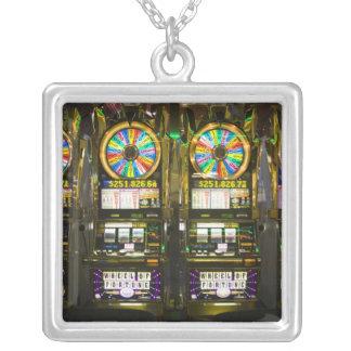 USA, Nevada, Las Vegas. McCarran International Square Pendant Necklace