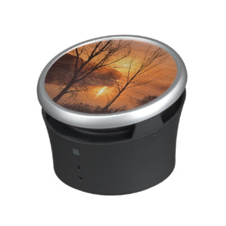 USA, New England, Maine. Autumn Sunrise Speaker