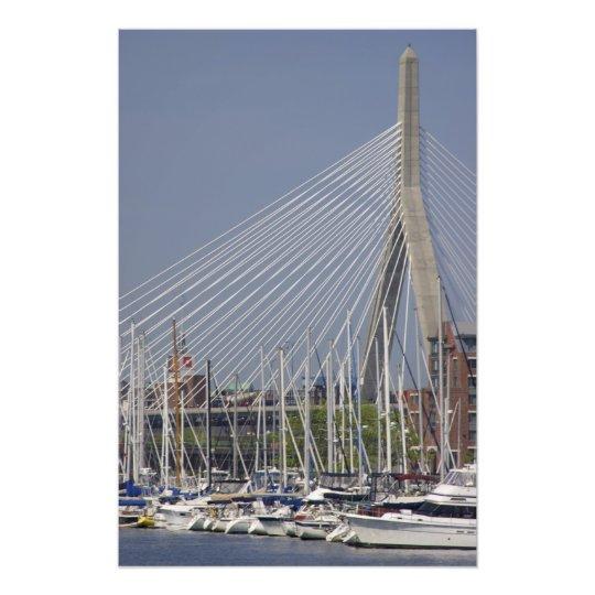 USA, New England, Massachusetts, Boston, boats Photo Print