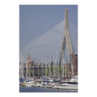 USA, New England, Massachusetts, Boston, boats Photographic Print
