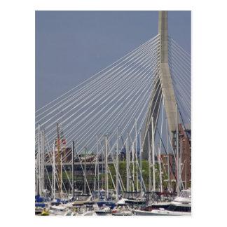 USA, New England, Massachusetts, Boston, boats Post Cards