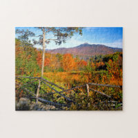 USA, New England, New Hampshire, Chocorua Jigsaw Puzzle