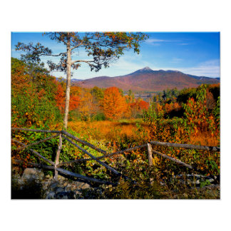 USA, New England, New Hampshire, Chocorua Poster
