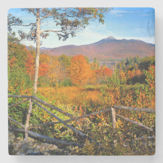 USA, New England, New Hampshire, Chocorua Stone Coaster