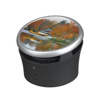 USA, New England, New Hampshire. Float Plane Speaker