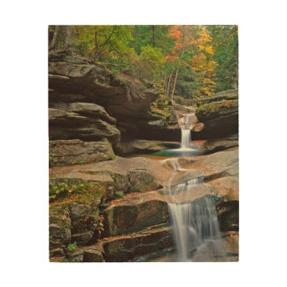 USA, New England, New Hampshire, White Mountains Wood Print