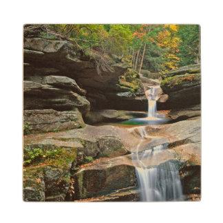 USA, New England, New Hampshire, White Mountains Wooden Coaster