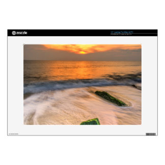 """USA, New Jersey, Cape May. Scenic On Cape May 2 Decal For 15"""" Laptop"""