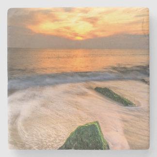 USA, New Jersey, Cape May. Scenic On Cape May 2 Stone Coaster