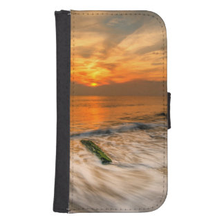 USA, New Jersey, Cape May. Scenic On Cape May 4 Galaxy S4 Wallet Case