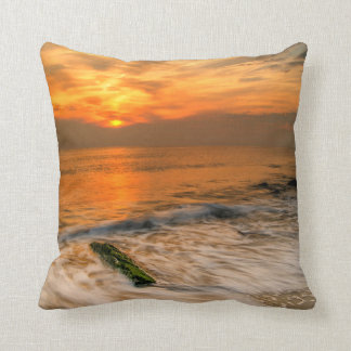 USA, New Jersey, Cape May. Scenic On Cape May 4 Throw Pillow
