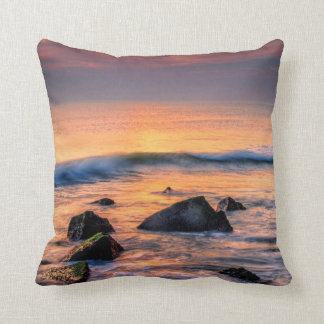 USA, New Jersey, Cape May Throw Pillow