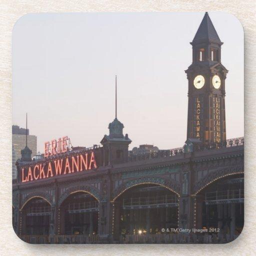 USA, New Jersey, Hoboken, old train station Coaster
