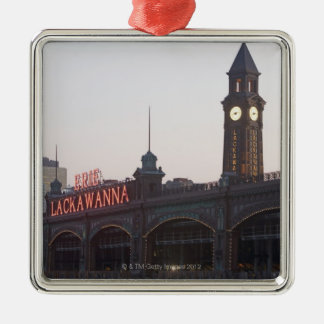 USA, New Jersey, Hoboken, old train station Ornaments
