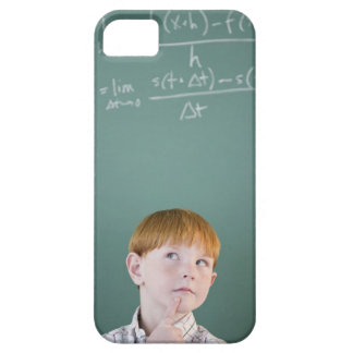 USA, New Jersey, Jersey City, Boy (8-9) iPhone 5 Cases