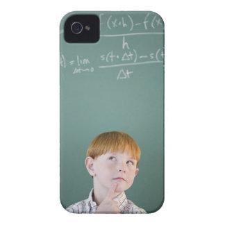 USA, New Jersey, Jersey City, Boy (8-9) iPhone 4 Case-Mate Case