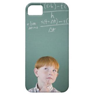 USA, New Jersey, Jersey City, Boy (8-9) iPhone SE/5/5s Case
