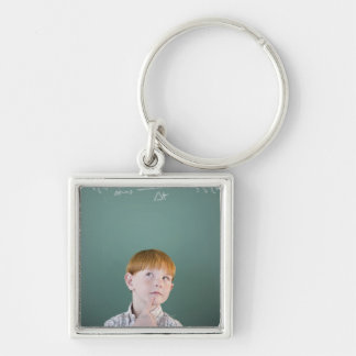 USA, New Jersey, Jersey City, Boy (8-9) Keychain