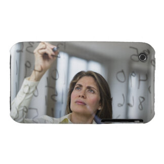 USA, New Jersey, Jersey City, Businesswoman iPhone 3 Cover