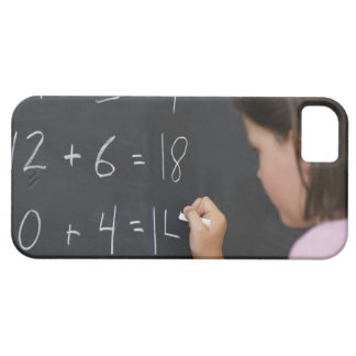 USA, New Jersey, Jersey City, Close up of girl iPhone 5 Covers