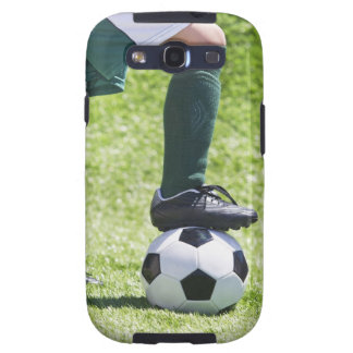 USA, New Jersey, Jersey City, Close up of girl's Samsung Galaxy SIII Case