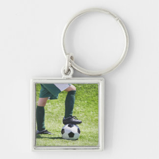 USA, New Jersey, Jersey City, Close up of girl's Keychain