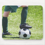 USA, New Jersey, Jersey City, Close up of girl's Mouse Pad