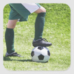 USA, New Jersey, Jersey City, Close up of girl's Square Sticker