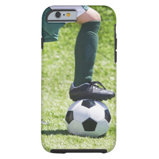 USA, New Jersey, Jersey City, Close up of girl's Tough iPhone 6 Case
